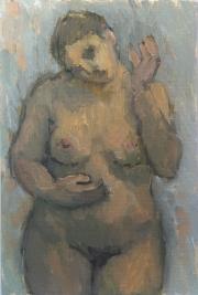 15_oilpostcard_Nude,front,onblue